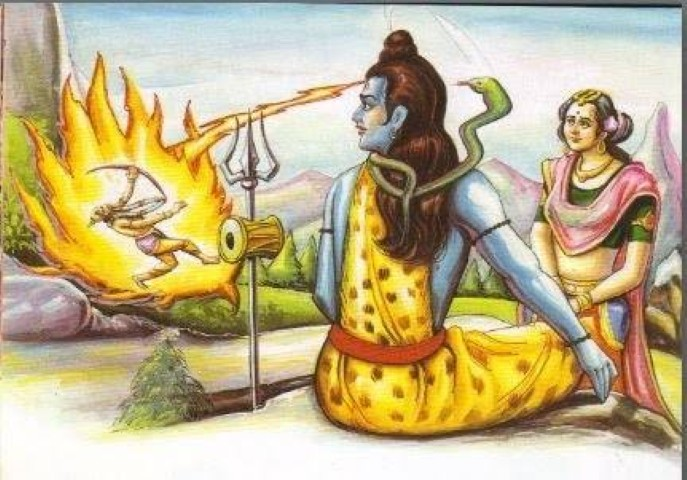 Lord Shiva and Kamdev Story in Hindi