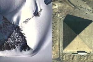 Mysterious pyramids found in Antarctica in Hindi